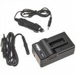 Automobilinis maitinimo adapteris (kroviklis) foto video kamerai 2in1 DJI Osmo Action AB1