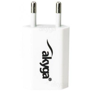 Maitinimo adapteris (kroviklis) USB 5W (Baltas) 3