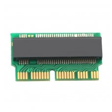 Adapteris M.2 PCIe X4 NGFF AHCI 2280 SSD 12+16Pin SSD Apple MacBook Air 2013 2014 2015 A1465 A1466 Mac Pro A1398 A1502