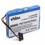 Baterija (akumuliatorius) GPS navigacinei sistemai Mitac Mio P350 3.7V 1700mAh