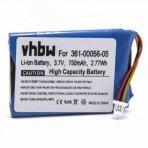 Baterija (akumuliatorius) navigacinei sistemai Garmin Nuvi 40, 52 3.7 V 750mAh