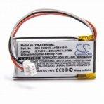 Baterija (akumuliatorius) belaidėms ausinėms Logitech UE310, UE3500, UE4500 3,7V 220mAh
