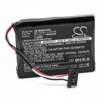 Baterija (akumuliatorius) GPS navigacinei sistemai Magellan Roadmate N393M-4300 5000 3.7V 1050mAh