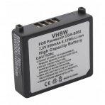 Baterija (akumuliatorius) foto-video kamerai Panasonic CGA-S303 S303E 7.2 V 850mAh