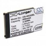 Baterija (akumuliatorius) telefonui Sharp GX15 GX25 GX30 GX30i 3.7 V 950 mAh