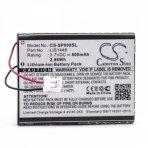 Baterija (akumuliatorius) žaidimų konsolėms Sony CECHZK1GB LIS1446 3.7 V 800mAh