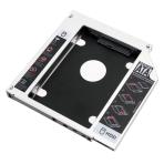 "Adapteris 9.5mm storio slim ODD/DVD į 2.5"" HDD/SSD SATA 3.0"
