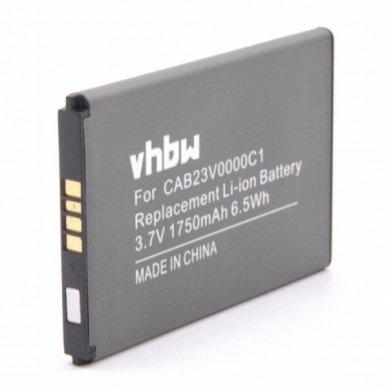 Baterija (akumuliatorius) maršrutizatoriui Alcatel One Touch Link Y800 3.7V 1750mAh