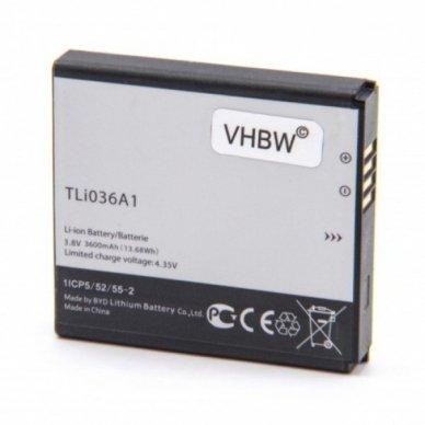 Baterija (akumuliatorius) maršrutizatoriui Alcatel One Touch Link Y900 3.8V 3800mAh