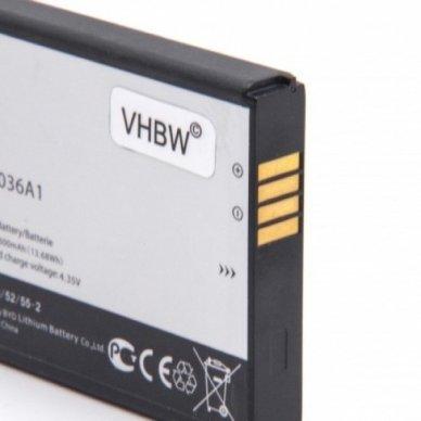 Baterija (akumuliatorius) maršrutizatoriui Alcatel One Touch Link Y900 3.8V 3800mAh 2