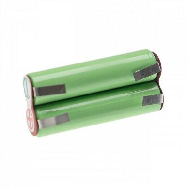 Baterija (akumuliatorius) plaukų ir barzdos kirpimo mašinėlei Braun BT7050, BT70 2.4V 950mAh 2