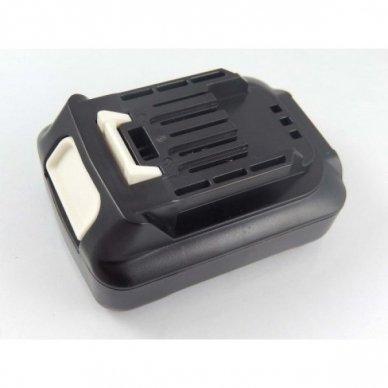 Baterija (akumuliatorius) elektriniam įrankiui Makita BL1021B, BL1041B, Li-Ion, 12V, 2000mAh