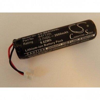 Baterija (akumuliatorius) radijo imtuvui Midland ER200, ER300 BATT20L 3,7V 2600mAh