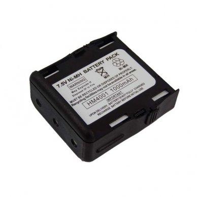 Baterija (akumuliatorius) radijo ryšio stotelei Motorola GP68, GP688 7.5V, Ni-MH, 1000mAh