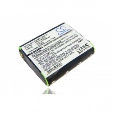 Baterija (akumuliatorius) radijo stotelei Motorola Talkabout FV500, T9500 3.6V 700mAh