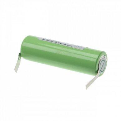 Baterija (akumuliatorius) plaukų kirpimo mašinėlei Panasonic ER140, ER141 1.2V 2500mAh 2