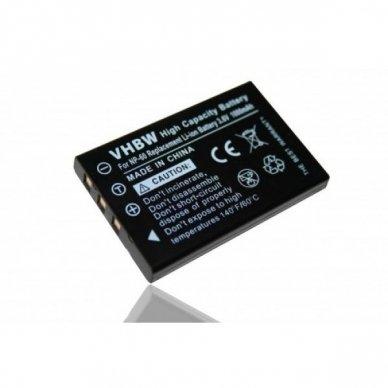 Baterija (akumuliatorius) foto-video kamerai Panasonic CGA-S302E 1B 3.6 V 1000 mAh