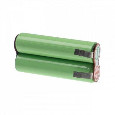 Baterija (akumuliatorius) kūno skustuvui Philips Bodygroom Serija 7000, 3000 2.4V 950mAh 2