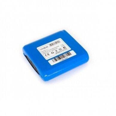 Baterija (akumuliatorius) radijo imtuvui Pure Sensia 200D Connect 3,7V 8800mAh