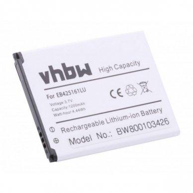 Baterija (akumuliatorius) telefonui Samsung Galaxy Ace 2 3.7 V 1200mAh