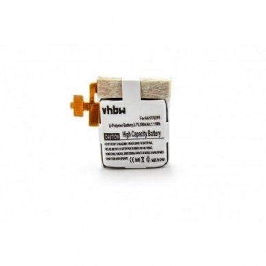 Baterija (akumuliatorius) išmaniesiems laikrodžiams Samsung SmartWatch Gear Live, SM-R382 3.7 V 300mAh