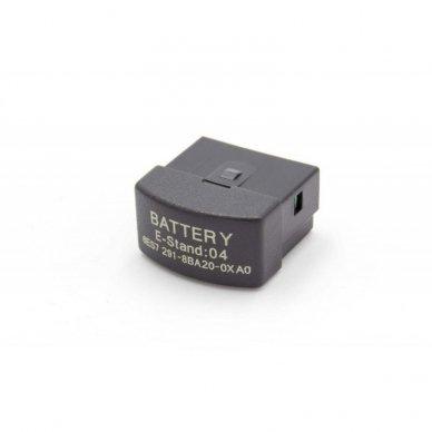 Baterija (akumuliatorius) RAID kontroleriui Siemens Simatic S7-200 22xx BC 291 6ES7291-8BA20-0XA0 3 V 1800 mAh