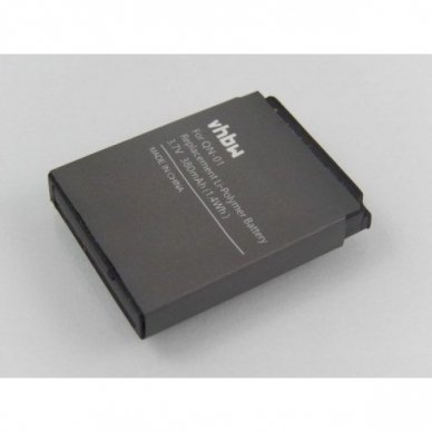 Baterija (akumuliatorius) išmaniesiems laikrodžiams SmartWatch QN-01, GT08 A1 3.7V 380mAh