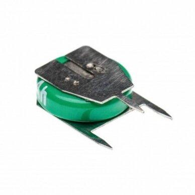 Baterija tipas 1-V15H (1 celė) 3 kontaktai, Ni-MH, 1.2V, 20mAh 2