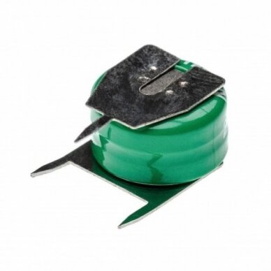 Baterija tipas 2-V15H (2 celės) 3 kontaktai, Ni-MH, 2.4V, 20mAh 2