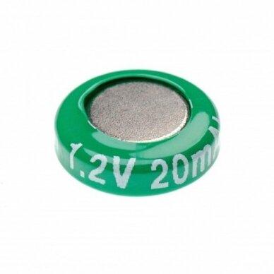 Baterija V15H (1 celė), Ni-MH, 1.2V, 20mAh