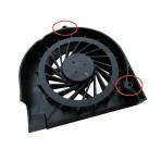 Aušintuvas (ventiliatorius) HP COMPAQ G50 G60 G70 CQ50 CQ60 CQ70 (3 kontaktai, 2 varžtai)