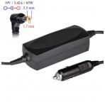 Automobilinis maitinimo adapteris (kroviklis) ACER 65W - 19V/3.42A (5.5*1.7mm)