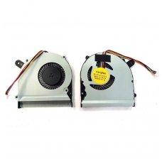 Aušintuvas (ventiliatorius) ASUS F502 X402 S400 S500 S400C S400CA S400E X402C X402E F402C X502C (4 kontaktai)