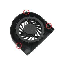 Aušintuvas (ventiliatorius) HP COMPAQ G50 G60 G70 CQ50 CQ60 CQ70 (3PIN, 3 SCREWS)