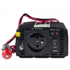 Automobilinis įtampos keitiklis GC 12V į 230V, 150W/300W
