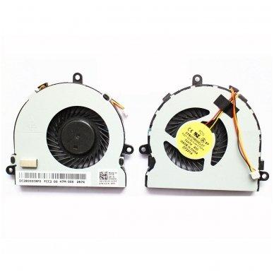 Aušintuvas (ventiliatorius) DELL 15R 3521 5521 17R 5721 074X7K (3 kontaktai, originalus)