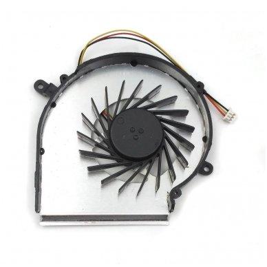 Aušintuvas (ventiliatorius) MSI GE62 GE72 GL62 GL72 PE60 PE70 GP72 GP62 (GPU - vaizdo plokštės) 2