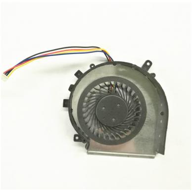 Aušintuvas (ventiliatorius) MSI GE72 GE62 PE60 PE70 GL62 GL72 MS-16J3 GE62VR GP62MVR MS-16J8 MS-16JB PAAD06015SL (4 kontaktai, CPU - procesoriaus) 2