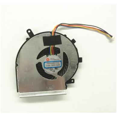 Aušintuvas (ventiliatorius) MSI GE72 GE62 PE60 PE70 GL62 GL72 MS-16J3 GE62VR GP62MVR MS-16J8 MS-16JB PAAD06015SL (4 kontaktai, CPU - procesoriaus)