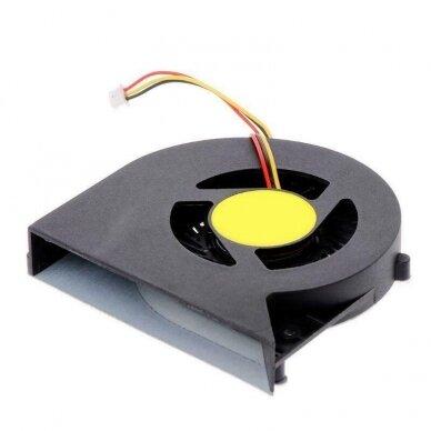 Aušintuvas (ventiliatorius) TOSHIBA C850 C855 C870 C875 L850 L875 (3 kontaktai)