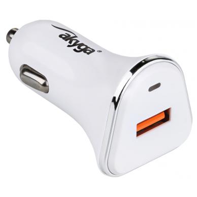 Automobilinis kroviklis USB 5V/3.0A 15W greito krovimo 3.0 2