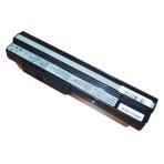 Baterija (akumuliatorius) MSI U90 U100 U120 U130 U200 U250 (juoda, 6600mAh)