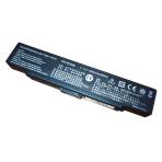 Baterija (akumuliatorius) SONY VGN-AR VGN-CR VGN-NR VGN-SZ (BLACK, 4400mAh)