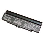 Baterija (akumuliatorius) SONY VGN-AR VGN-CR VGN-NR VGN-SZ (juoda, 6600mAh)