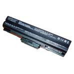 Baterija (akumuliatorius) SONY VGN-AW VGN-BZ VGN-CS VGN-FW VGN-NS VGN-NW (BLACK, 6600mAh)