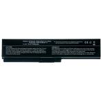 Baterija (akumuliatorius) TOSHIBA L650 U400 M800 A600 C600 L300 M100 (4400mAh)