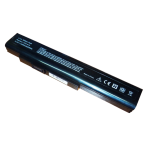 Baterija (akumuliatorius) MSI A6400 CR640 CX640 MEDION MD97744 MD97768 MD97874 (14.4V - 14.8V, 4400mAh)