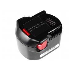Baterija (akumuliatorius) GC elektriniam įrankiui AEG B1214G B1215R B1220R 12V 2Ah