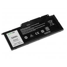 Baterija (akumuliatorius) GC Dell Inspiron 15 7537 17 7737 7746, Dell Vostro 14 5459 14.8 V 58Wh