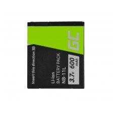 Skaitmeninės kameros baterija (akumuliatorius) GC skirta Canon PowerShot A2300 IS A2400 IS A3400 IS A3500 IS SX400 SX410 SX420 IS 9 3.7V 600mAh